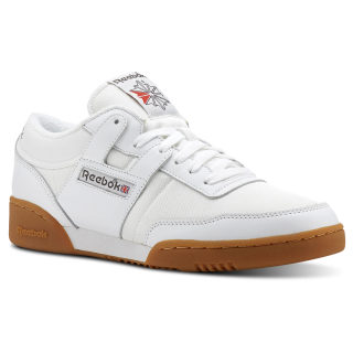 Workout 85 Archive-White / Grey / Red / Gum CN3660