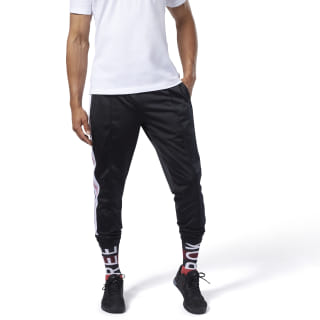 Pantalon de sport avec logo Training Essentials Black FI1928