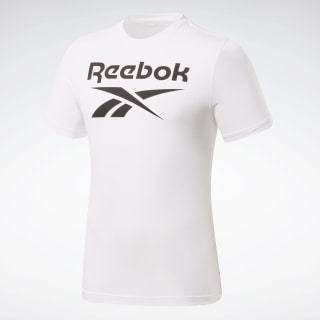 T-shirt Graphic Series Reebok Stacked White FP9152