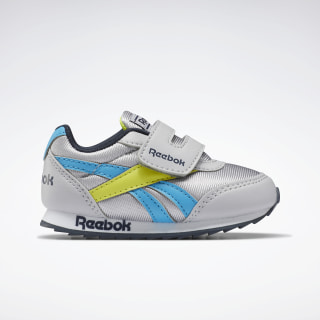 Reebok Royal Classic Jogger 2 Shoes - Toddler Cold Grey 2 / California Blue / Collegiate Navy EH2115