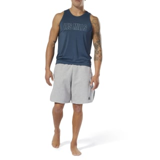 Short LES MILLS® Medium Grey Heather DV2712
