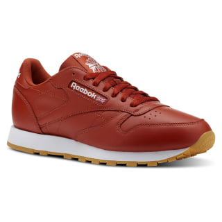 Tenis Classic Leather LEATHER MU FG-BURNT AMBER/WHITE/GUM CN5769