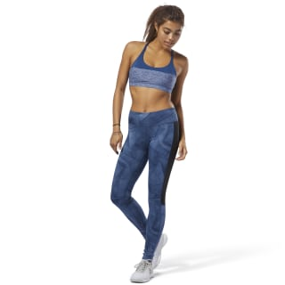 Legging Workout Ready Printed BUNKER BLUE F18-R CY3634