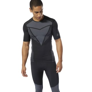 T-shirt de compression Training ACTIVCHILL Vent Black DP6562