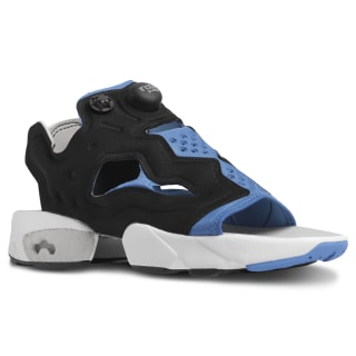 Кроссовки InstaPump Fury Sandal black/echo blue/STEEL EF2913
