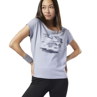 Graphic Series Camo Easy Tee Denim Dust DY7820