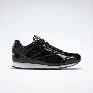 Reebok Royal Classic Jogger 2.0 Shoes Black / Black / White EF3411