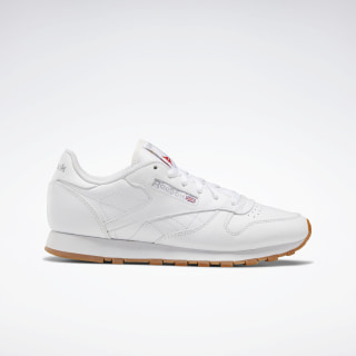 Classic Leather Shoes White / White / White 49801