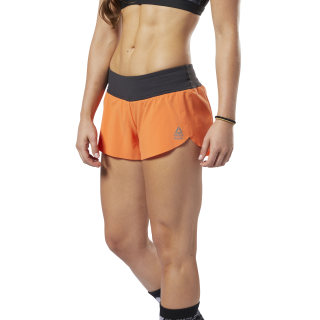 Reebok CrossFit® Knit Waistband Shorts Fiery Orange EC1448
