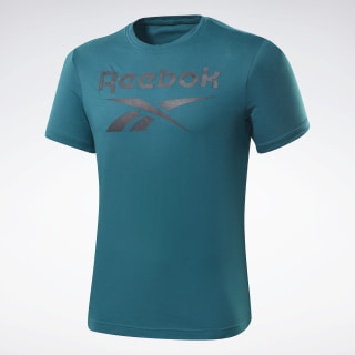 Graphic Series Reebok Stacked Tee Heritage Teal FP9146