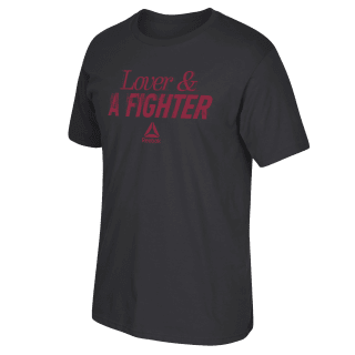 Lover & A Fighter Tee Black FP7997