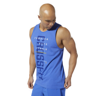 Reebok CrossFit® Mesh Tank Top Crushed Cobalt DP4584