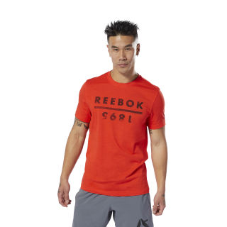 Reebok 1895 Tee Canton Red DP6206