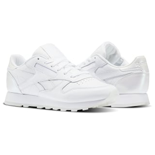 Tenis Classic Leather L PEARL-WHITE/WHITE/ICE BD5807