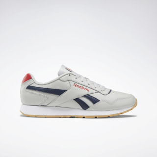 Reebok Royal Glide Skull Grey / Navy / Red / White DV9696