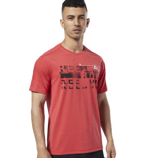 Polo Ost Speedwick Graphic Tee Rebel Red EC1023