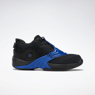 Answer V Basketball Shoes Black / Collegiate Royal / Black DV8286