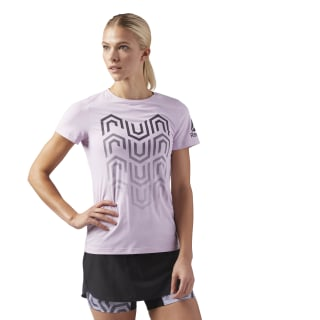 T-Shirt ACTIVCHILL Running Pink / Moonglow CW0469