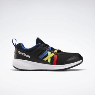 Reebok Road Supreme Shoes - Preschool Black / Humble Blue / Radiant Red EH0621