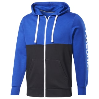 Sudadera Training Essentials Linear Logo Cobalt FI1953
