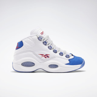 Question Mid Shoes White / Collegiate Royal / Primal Red FV8122