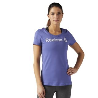 Reebok Scoop Neck Tee Blue BR2891