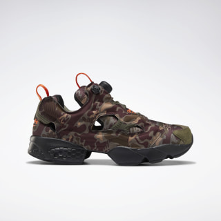 InstaPump Fury OG Shoes Grey / Earth / Army Green / Sand DV6962