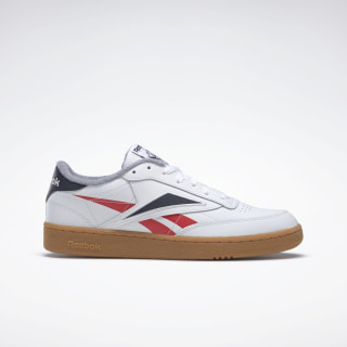 Club C 85 Men's Shoes White / Radiant Red / Collegiate Navy EG6426