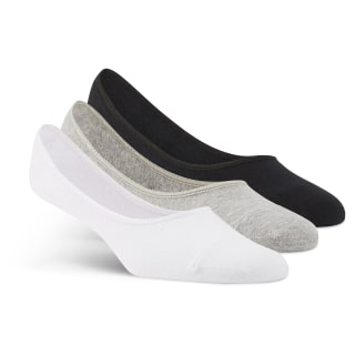 Medias invisibles Medium Grey Heather / White / Black AY6265