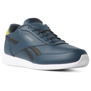 Reebok Royal Classic Jogger Shoes Blue Hills / Black / Urban Yellow / White CN7396