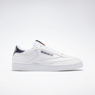 Scarpe Club C 85 White / Collegiate Navy / Fiery Orange FV2588