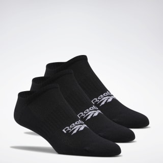Classics Foundation Invisible Socks – 3er-Pack Black FL9306