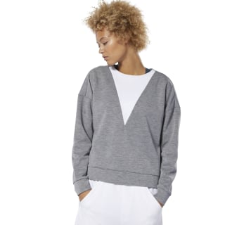 Training Supply Crew Sweatshirt Mgh Solid Grey DU4041
