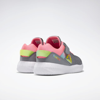 Reebok Flexagon Energy Shoes Cold Grey 4 / Solar Pink / Neon Blue FV5838
