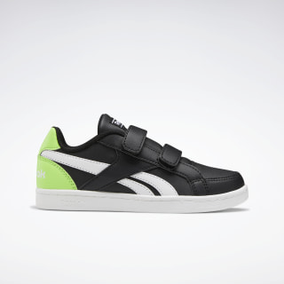 Reebok Royal Prime Shoes Black / Semi Solar Green / White EH1008