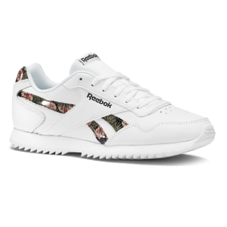 Reebok Royal Glide Ripple White / Black / Graphic CN6996