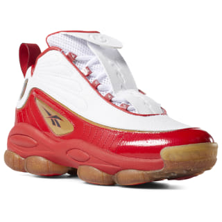 Tênis Iverson Legacy red / white / black / brass CN8406