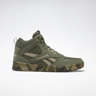 Reebok Royal BB 4500 Hi 2 Men's Basketball Shoes Hunter Green / Camo / ARMY DV8835