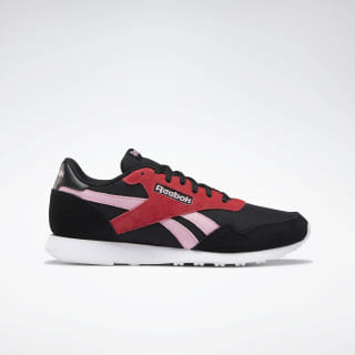 Reebok Royal Ultra Shoes Black / Light Pink / Pink / White DV9525