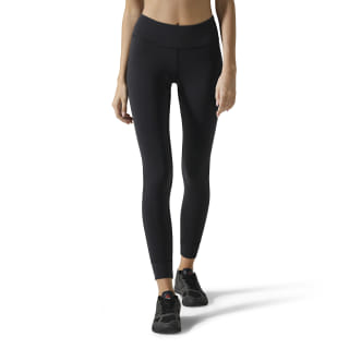 Reebok Lux Tights Black / Carotene DW8082