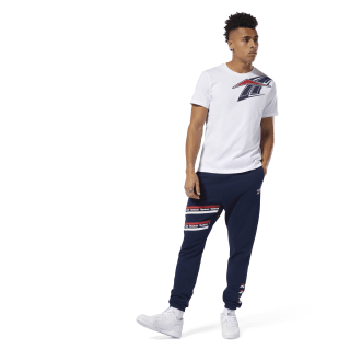 Classics Vector Graphic Pant Collegiate Navy DY7862