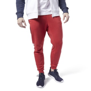 Training Essentials Logo Jogger Pants Rebel Red FI1925