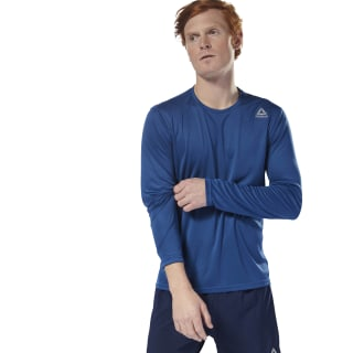 Maglia Running Long Sleeve Bunker Blue CY4667