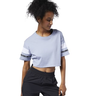 Meet You There Colorblock Tee Denim Dust EC2422