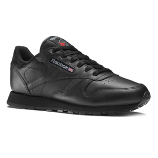 Classic Leather – Grade School Black 50149