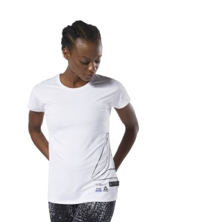 ACTIVCHILL Graphic Tee White DU4164