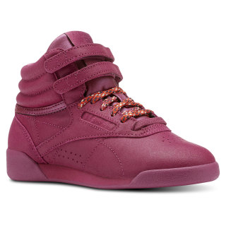 Freestyle Hi FACE Stockholm - Pre-School TWISTED BERRY / WHITE CN5550