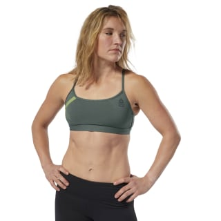 Reebok CrossFit Skinny Bra - Graphic Chalk Green CY5686