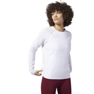 Camiseta Thermowarm Deltapeak Crew Neck White D93891