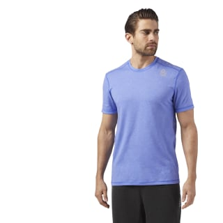 Reebok CrossFit Burnout Tee Blue CD4488